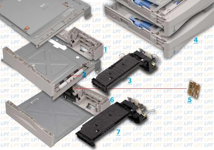 parts diagram 2 for laserjet 4000 4050 rh lbrty com Where to Find Model Number HP LaserJet 4000 HP Printers 4000 Series