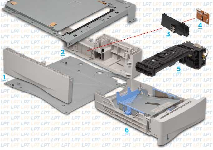 parts diagram 3 for laserjet 4000 4050 rh lbrty com HP LaserJet P2035 Manual HP LaserJet 4 Plus Manual
