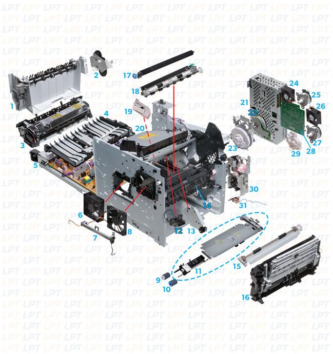 m601, m602, m603 parts diagram