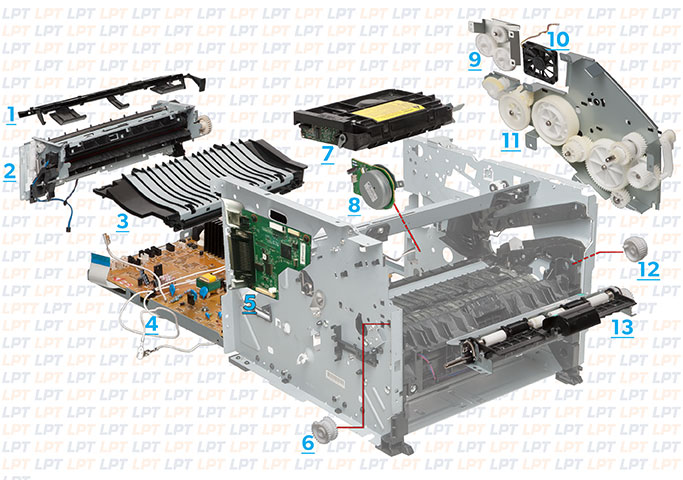 parts diagram for laserjet p2035 rh lbrty com hp p2035 printer manual HP 2055 Printer