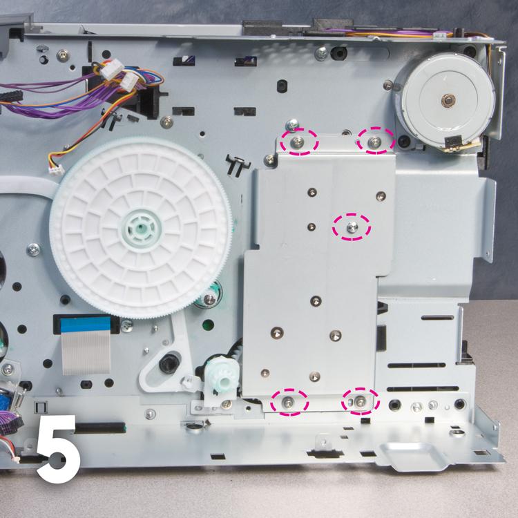 Gear Noise in HP LaserJet 2410, 2420, 2430